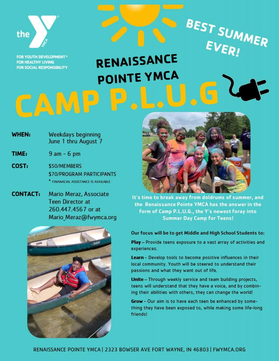 Renaissance Pointe Summer Day Camp Flyer