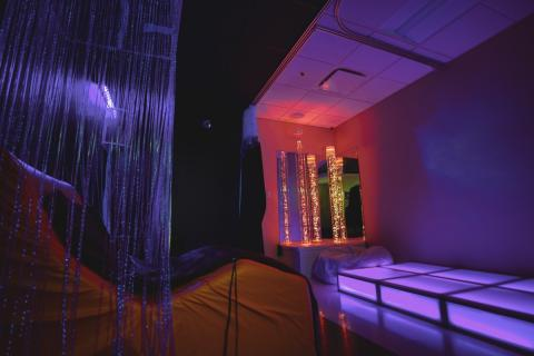 Sensory room at Jackson R Lehman